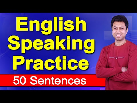 English Speaking Practice | 50 Sentences | Awal