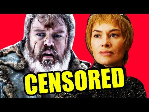 Game of Thrones CENSORED & DELETED Death Scenes Explained