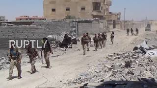 SDF forces on the front-line in Raqqa successfully forced back the self-proclaimed Islamic State (IS, formerly ISIS/ISIL) in the ...