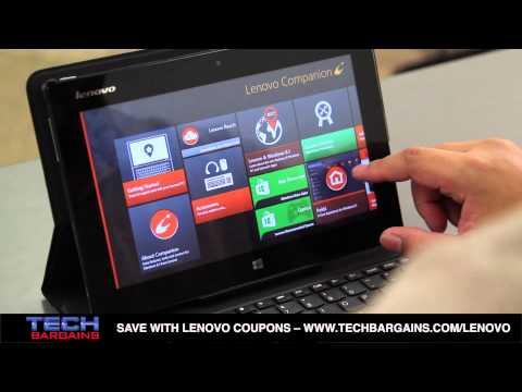Lenovo Miix 10 Tablet Video Review (HD)