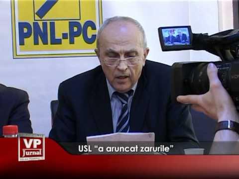 """USL """"a aruncat zarurile"""""""