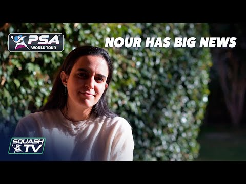 Squash: Nour Has Big News!
