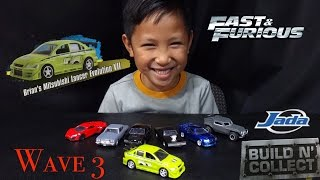 Nonton Fast & Furious - 1:55 - 3rd Wave Build N Collect Set Mitsubishi Lancer Evolution VII - Jada Toys Film Subtitle Indonesia Streaming Movie Download