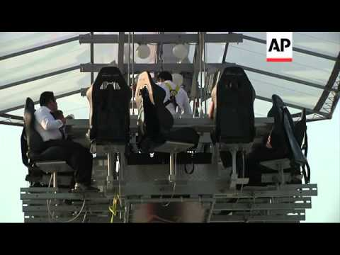 Would you attend a dinner party 130 feet in the air?!