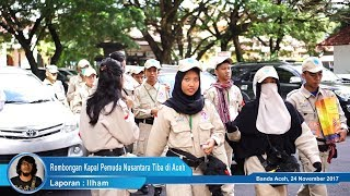 Sambut Sail Sabang 2017, Rombongan Kapal Pemuda Nusantara Tiba di Aceh
