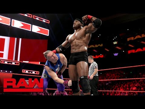 Tyler Breeze Vs. Bobby Lashley: Raw, Oct. 15, 2018