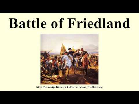 Battle of Friedland