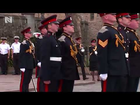 Bell ringing and gun salutes celebrate Britain's new royal baby