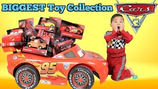 Video BIGGEST Disney Cars 3 Toy Collection Ever Delivered By Lightning McQueen For Ckn Toys MP3, 3GP, MP4, WEBM, AVI, FLV Juli 2018