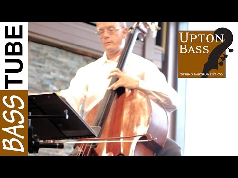 Upton Bass: Edwin Barker Solo Double Bass and Piano