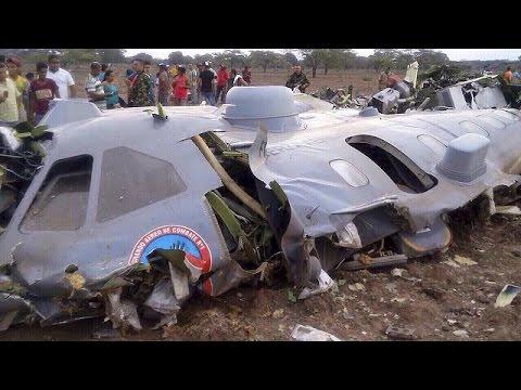 Κολομβία: 11 νεκροί στρατιωτικοί από συντριβή αεροσκάφους