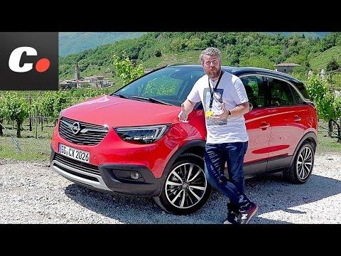 Opel Crossland X 2017 SUV  Primera prueba / Test / Review en español  Contacto  Coches.net