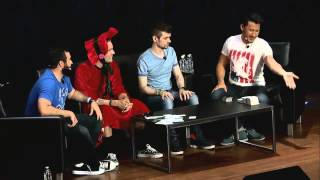 PAX Prime 2015:  People Doing Panels (Markiplier - PewDiePie - CinnamonToastKen - Jacksepticeye)