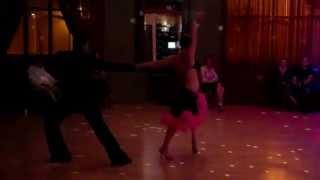 Katrina and Tavio Dancing the Cha Cha
