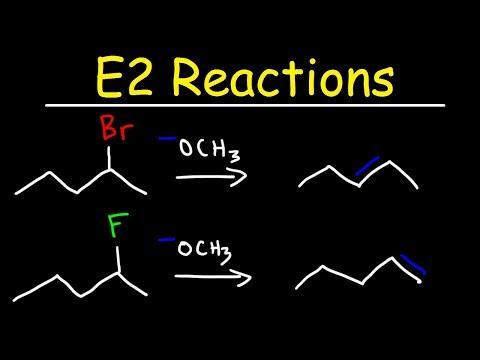 E2 Reaction Mechanism - Hoffman Elimination vs Zaitsev's Rule