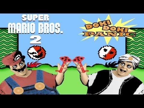 Yume K�j� : Doki Doki Panic NES