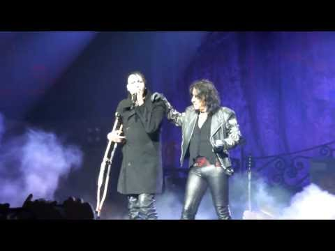 Alice Cooper and Marilyn Manson together !!:
