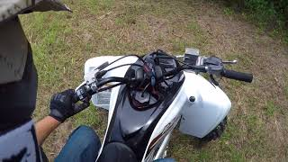 6. Riding thru fields 2018 Yamaha Raptor 700R SE