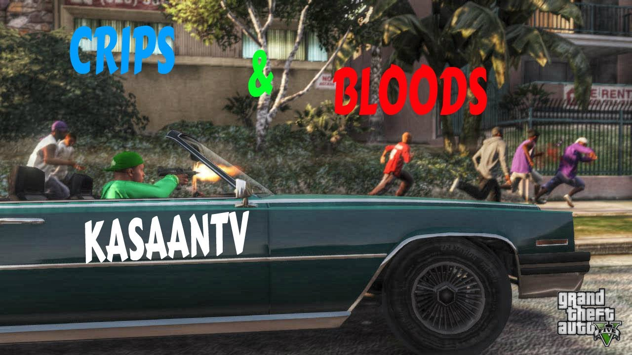 GTA 5 (Crips & Bloods) [HD]