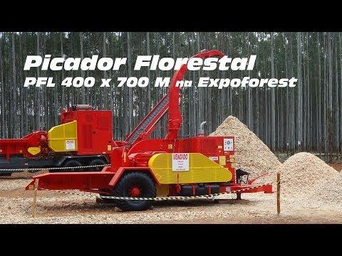 Picador Florestal PFL 400 x 700 M - Demonstração na Expoforest