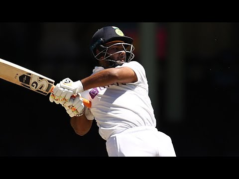 Pant turns tables on Aussies until Lyon's intervention on 97 | Vodafone Test Series 2020-21
