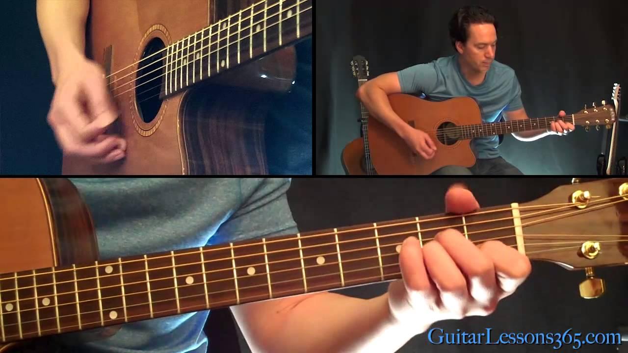 Simple Man Guitar Lesson Acoustic – Shinedown – Lynyrd Skynyrd