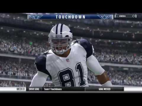 Week 8: Saints vs. Cowboys (Full Game)