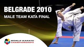 Video Karate Male Team Kata Final - Japan vs. Italy - WKF World Championships Belgrade 2010 (2/2) MP3, 3GP, MP4, WEBM, AVI, FLV Mei 2019
