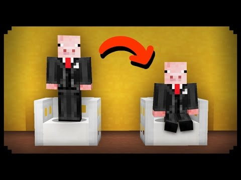 ✔ Minecraft: How to make Any Chair Sittable (видео)