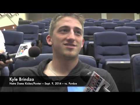 Kyle Brindza Interview 9/10/2014 video.