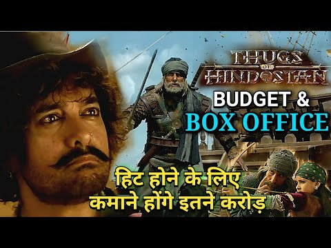 THUGS OF HINDUSTAN BUDGET & BOX OFFICE COLLECTION