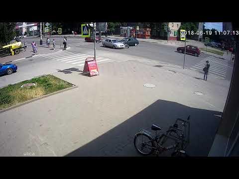 ДТП в Тамбове на улице Советской