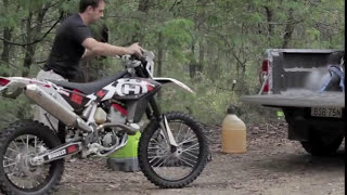 5. 2011 Husqvarna TE 449 ADB feature preview by Adam Riemann