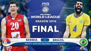 Video GOLD Collection Serbia v Brazil Final 2016 (Best Volleyball Actions) FIVB Volleyball World League MP3, 3GP, MP4, WEBM, AVI, FLV Februari 2018