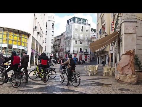 Rua da Mouraria, Mouraria, Lisboa. (видео)