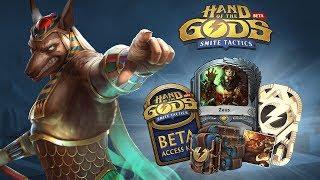 Началось ЗБТ консольной версии Hand of the Gods: SMITE Tactics