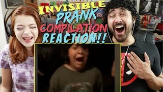 Invisible PRANK Video Compilation! REACTION!!! by The Reel Rejects