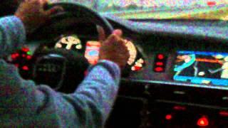 """""""Dawaj, k**wa Ewka 250 jedziesz!"""" Gość podkręca żonę do jeszcze szybszej jazdy swoją Audi!"""