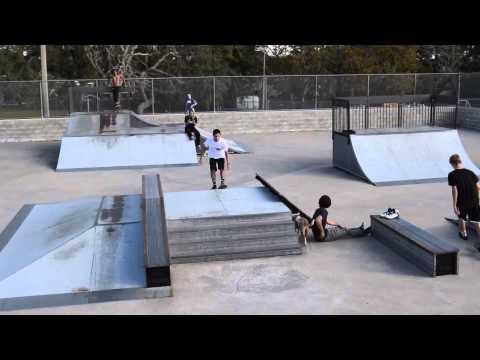 Christmas @ Stewy's Skatepark