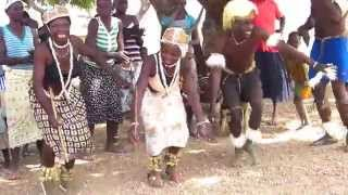 Amazing traditional dances of Tamberma People in north Togo. The region is called also Koutammakou and the people ...