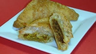 Puffs - Vegetable&Keema, An Indian Snack Recipe