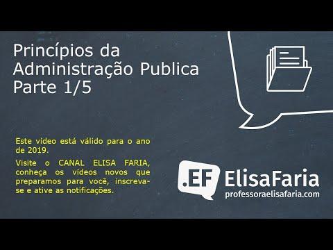 Principios da Administração Publica (1 de 5)