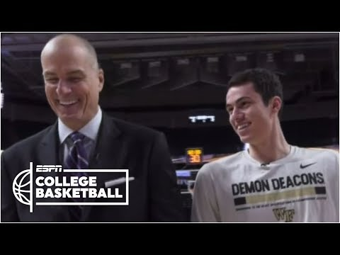 Jay Bilas interviews son on his Wake Forest Senior Day | College GameDay - Thời lượng: 3 phút, 13 giây.