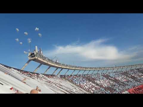 Recibimiento monumental// River vs Boca//Sivori Alta - Los Borrachos del Tablón - River Plate