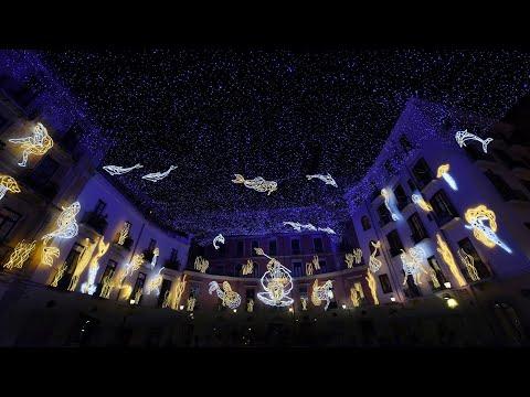 salerno luci d'artista 2015-2016 - tour delle installazioni