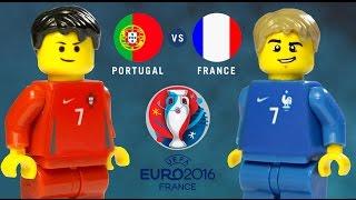 Video LEGO Euro 2016 Final PORTUGAL - FRANCE MP3, 3GP, MP4, WEBM, AVI, FLV April 2019