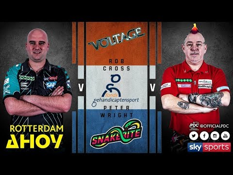 2018 Premier League Of Darts Week 12 Cross Vs Wright