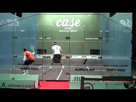 PSA Case Swedish Open 2012 Final – Gregory Gaultier vs. Karim Darwish