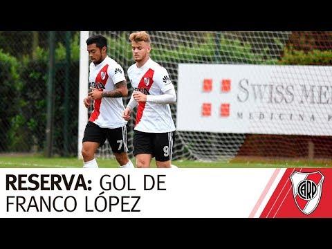 Reserva: Gol de Franco López vs. Unión