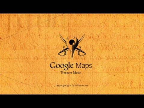 Google Maps Treasure Mode